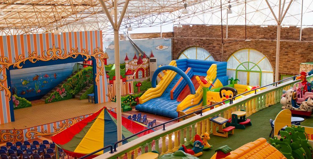 I vostri bambini si divertiranno al parco giochi Zantino World