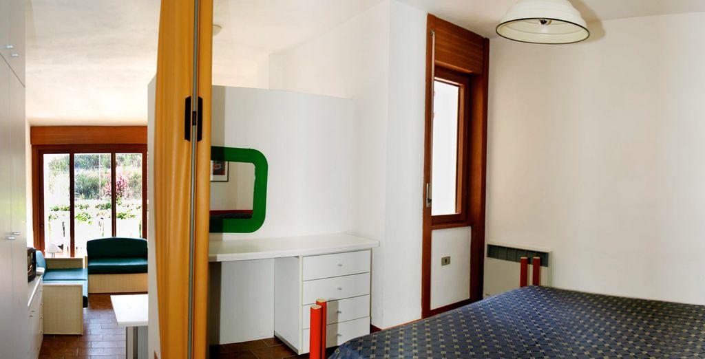 Trovate sistemazione in comodi appartamenti