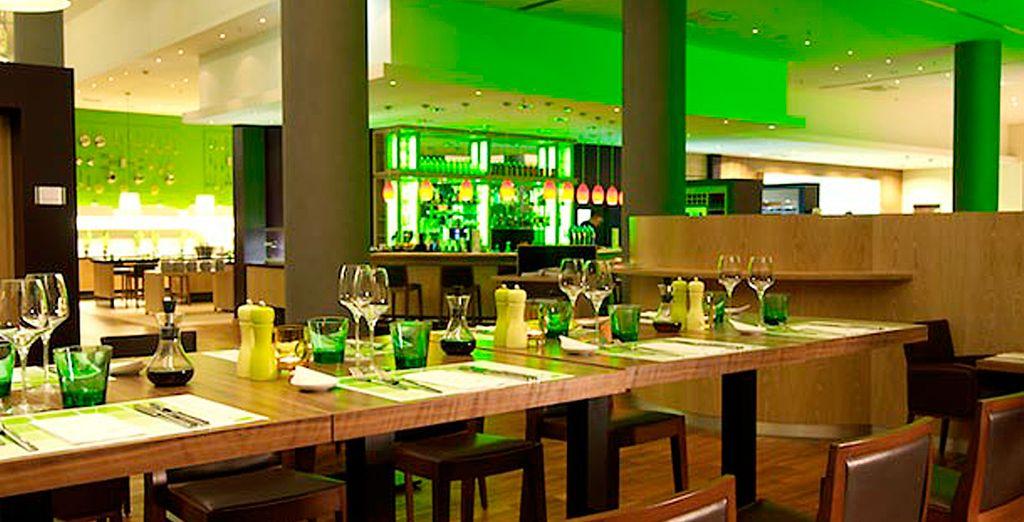 un ristorante di design dove cenare
