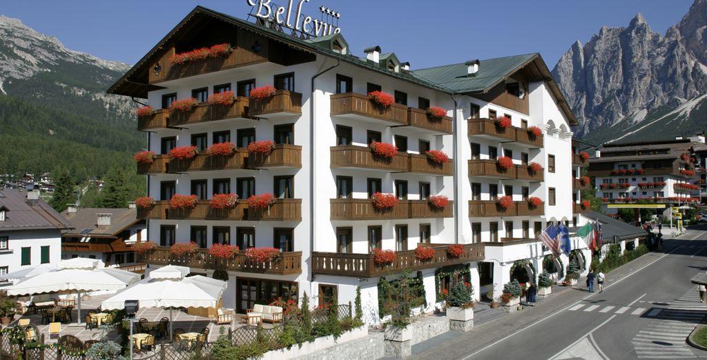 Vivete Cortina e il panorama unico delle Dolomiti