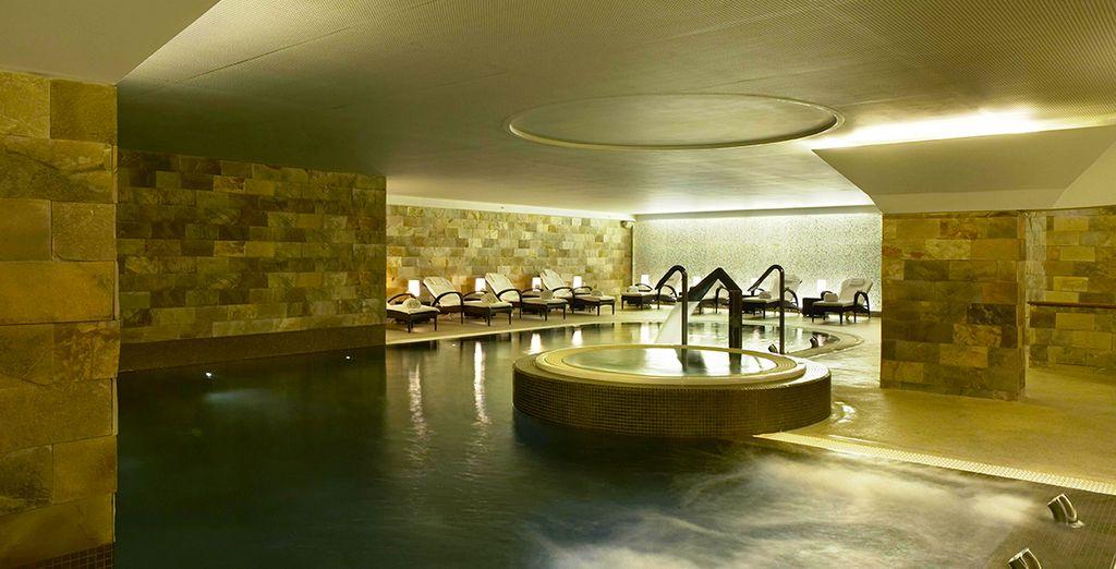 coccolatevi nell'elegante spa Wellness & Beauty Lab