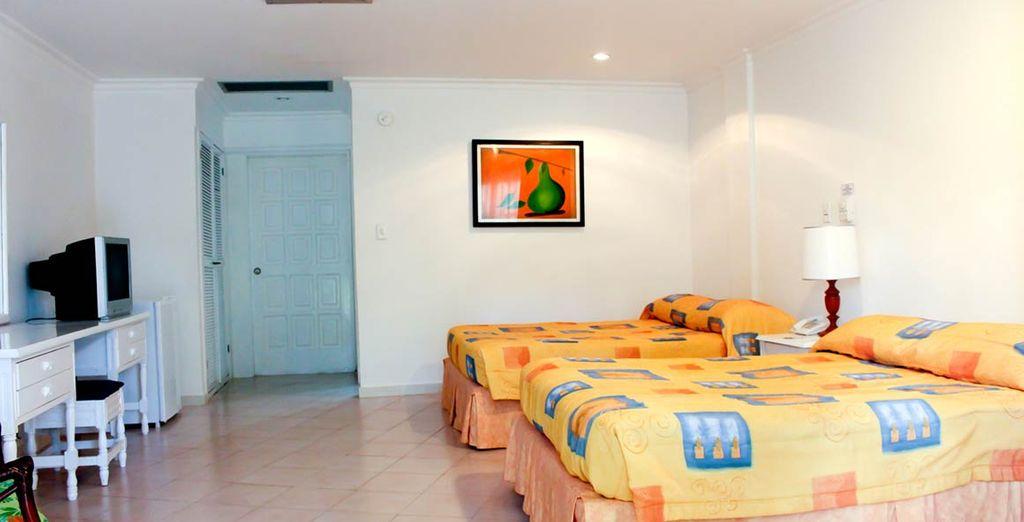 Le vostre camere arredate nello stile locale saranno il rifugio ideale
