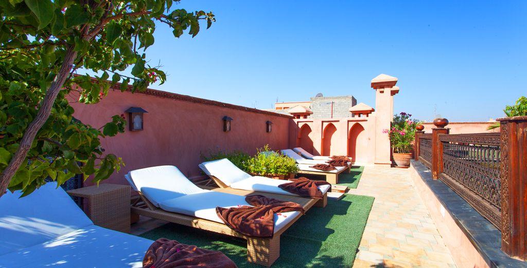 Sotto il caldo sole del Marocco