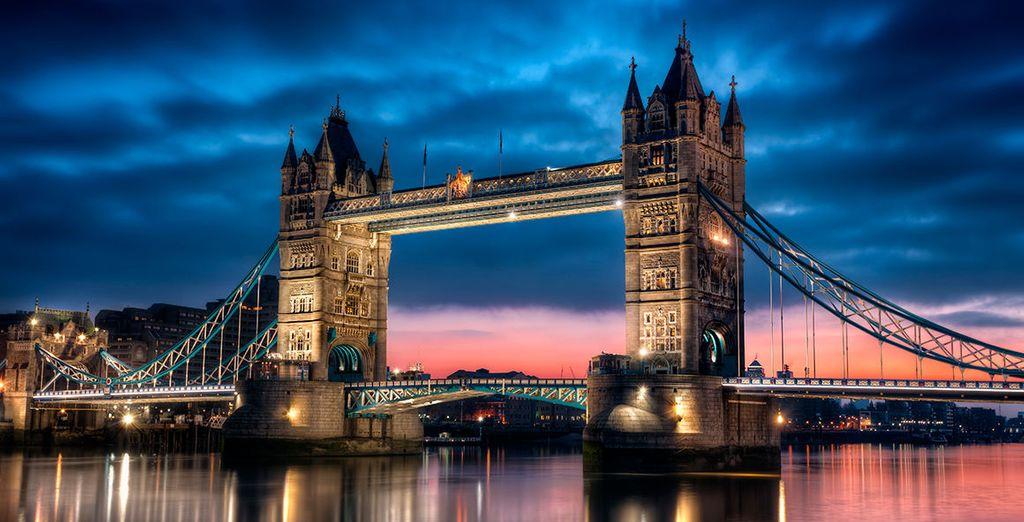 Il fascino di Londra al crepuscolo