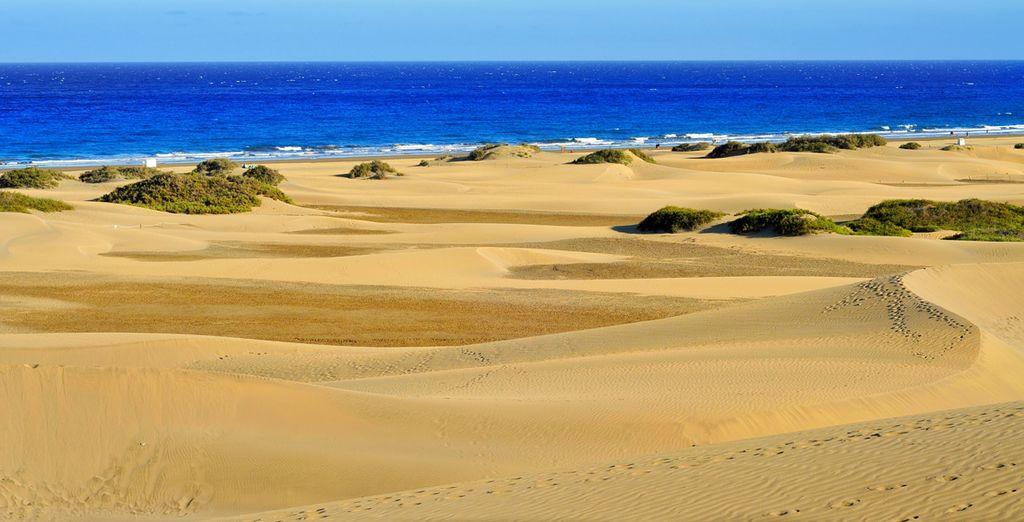 Dune, mare e sole in un'isola dalla natura meravigliosa