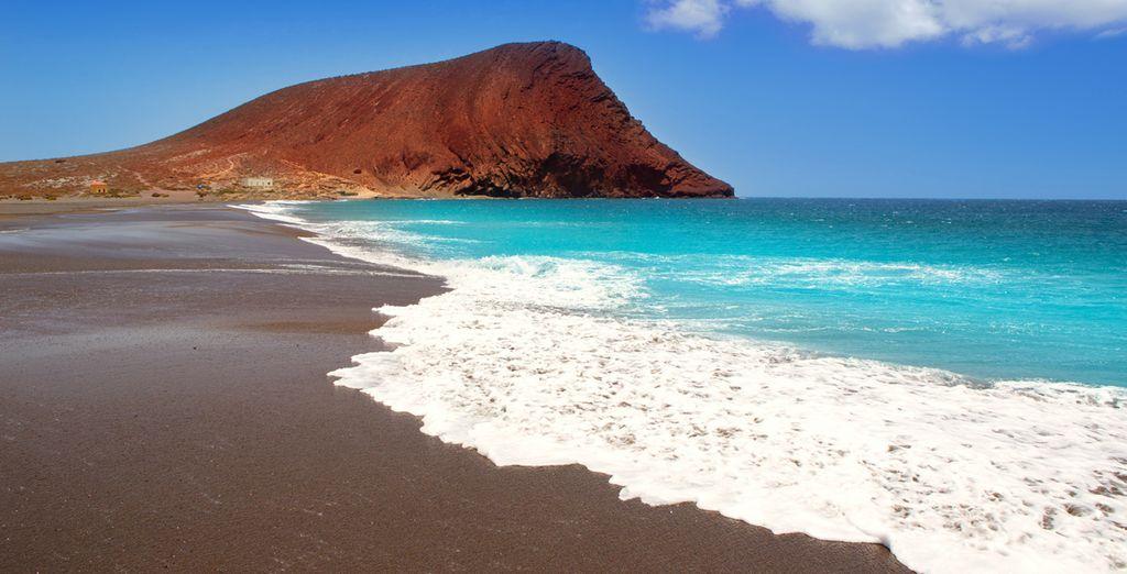 Enormi spiagge bagnano tutta l'isola