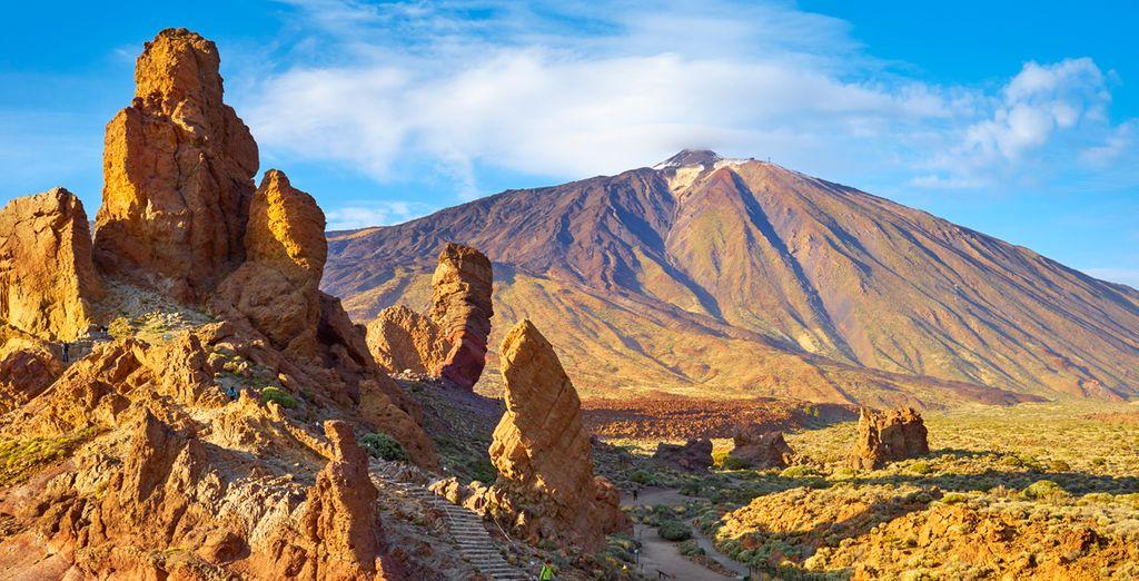 Direttamente affacciati sulle bellezze del Parco Nazionale del Monte Teide