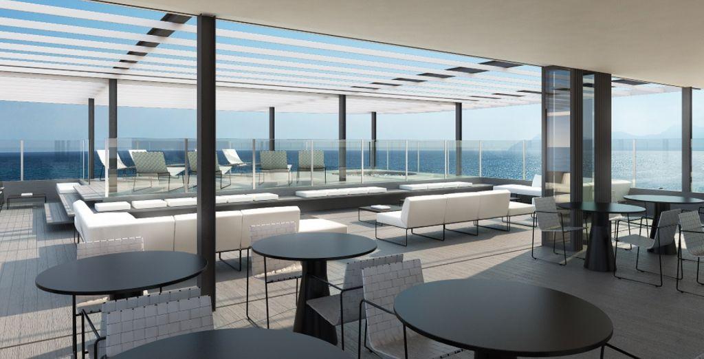 Soggiornerete al Tonga Tower Design Hotel & Suites 4*