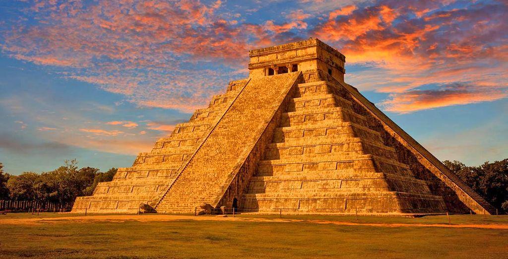 Visitate Chichen Itza, capitale Maya dello Yucatan