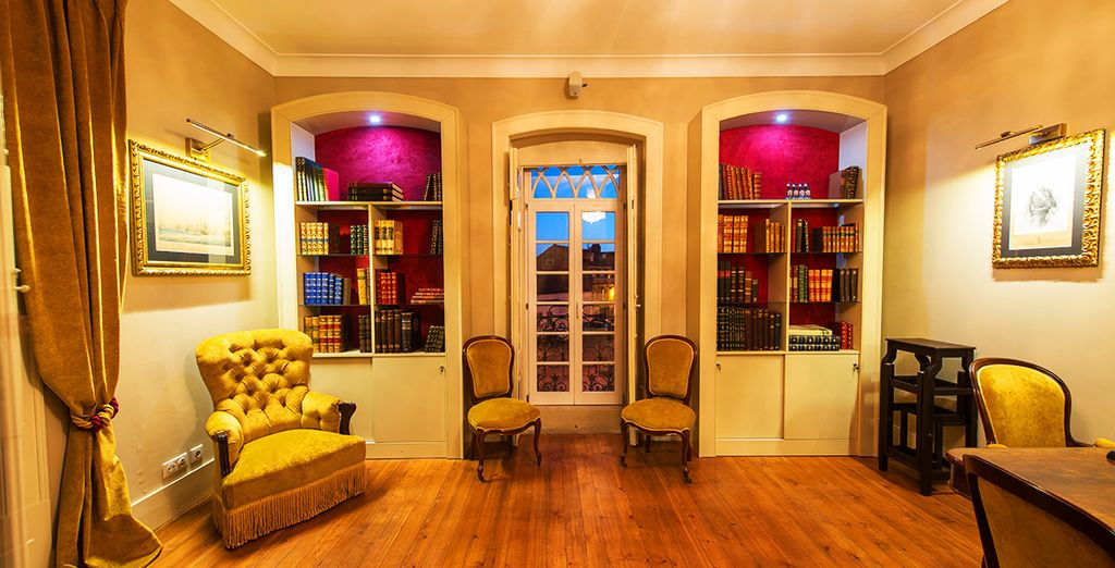 Un elegante boutique hotel dagli interni raffinati