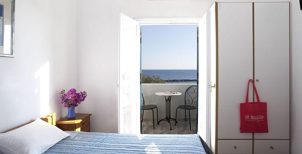 rilassatevi nella vostra confortevole camera