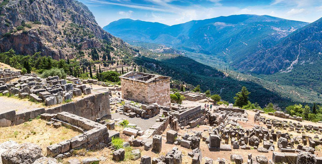 Monumenti e Parco Naturale della Grecia