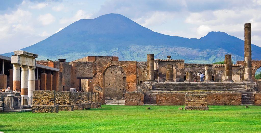 Approfittate della possibilità di visitare Pompei