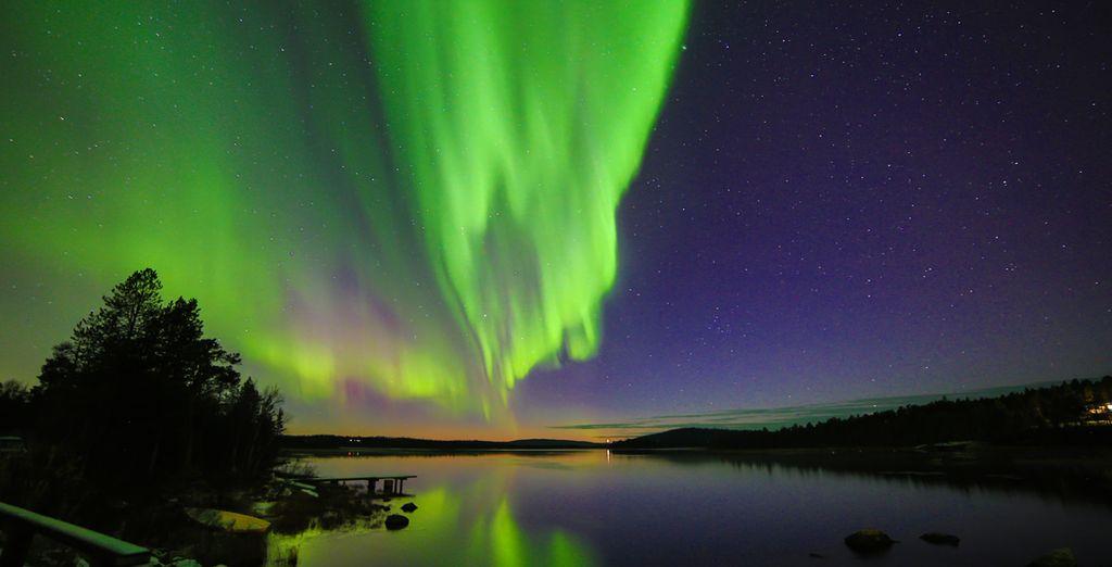Ammirate lo spettacolo dell'Aurora Boreale