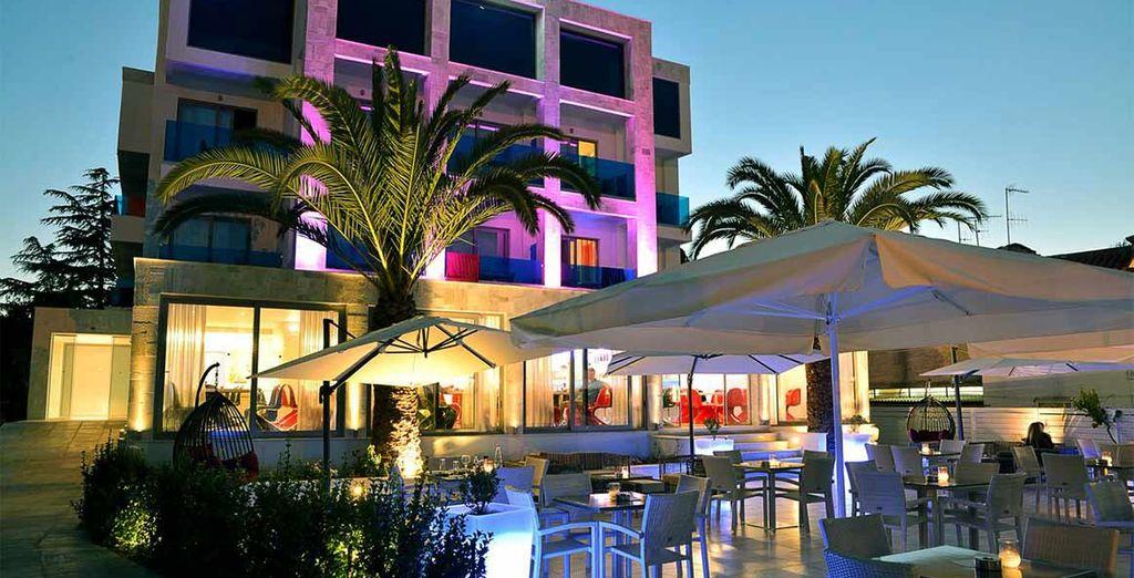 L'hotel è caratterizzato da uno stile moderno e rinnovato