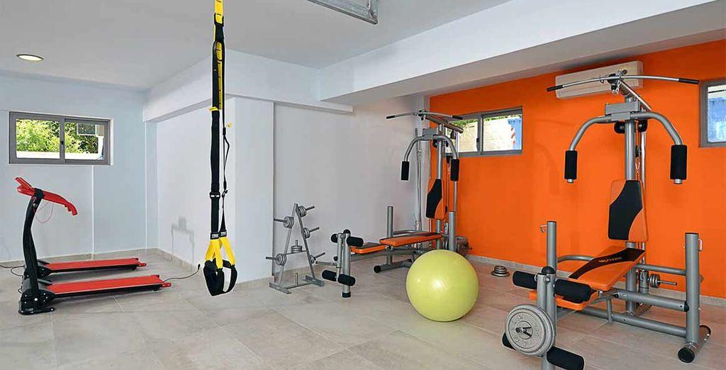 A vostra disposizione un centro fitness completamente attrezzato
