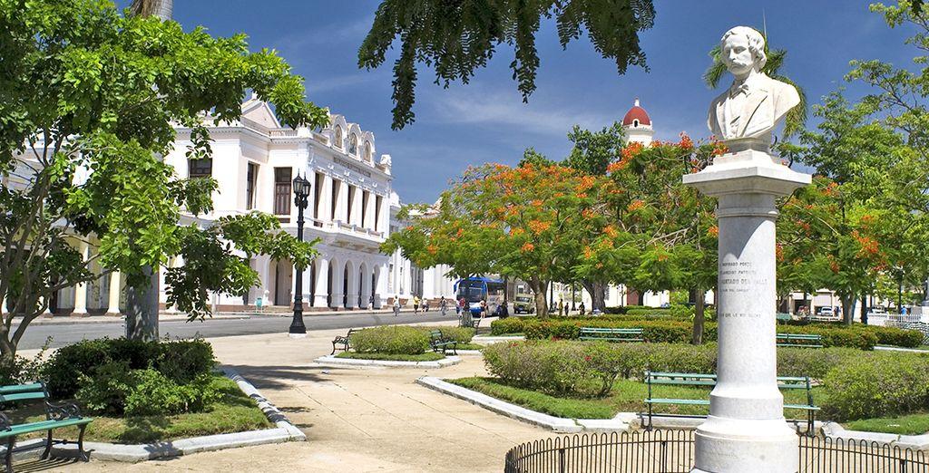 La visita a Cienfuegos