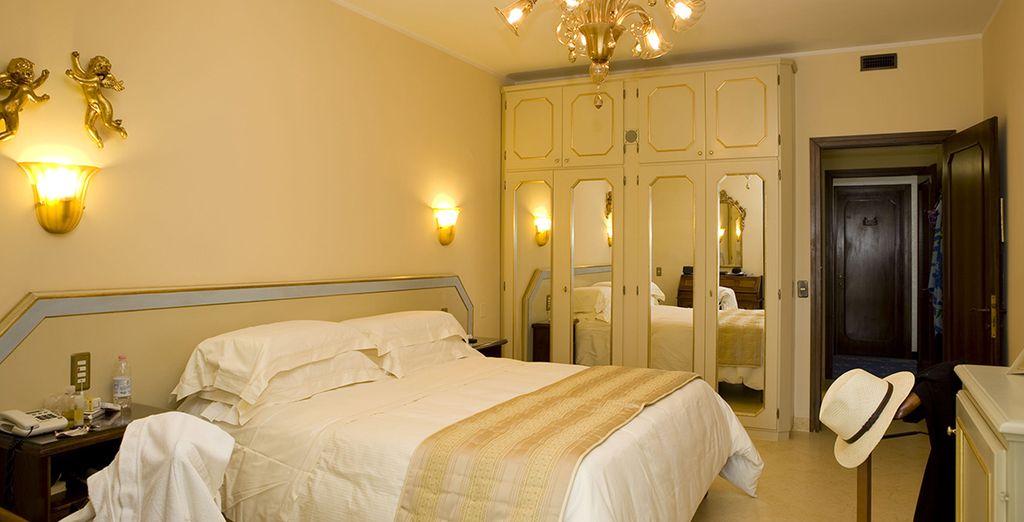 Accomodatevi nelle vostre camere Elegant