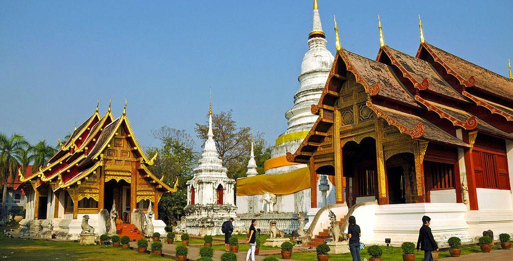 Templi, budda e tesori sfavillanti vi attendono a Chang Mai
