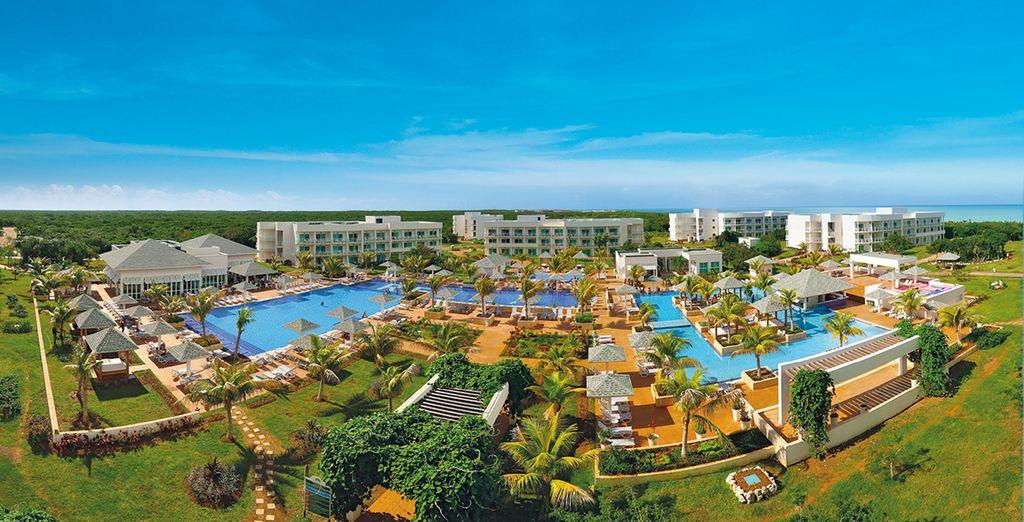 Soggiornerete in un esclusivo hotel 5* a Cayo Santa Maria
