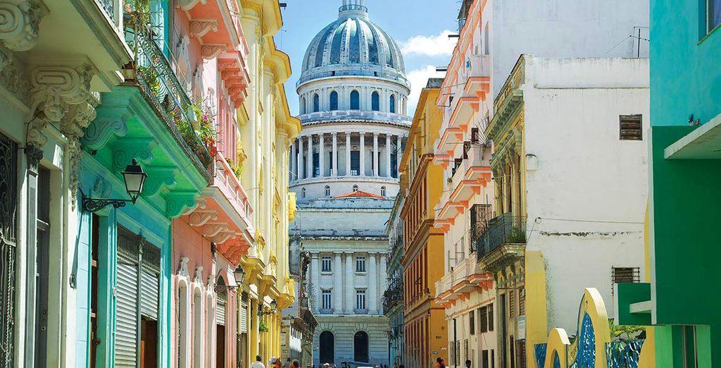L'Avana con i suoi colori