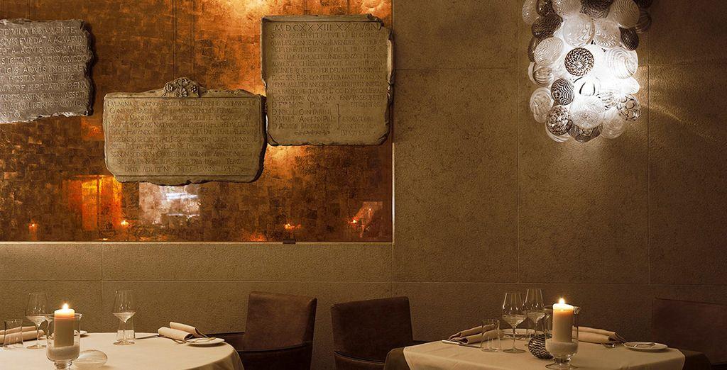 Il MET Restaurant con un ambiente che unisce tradizione e contemporaneità