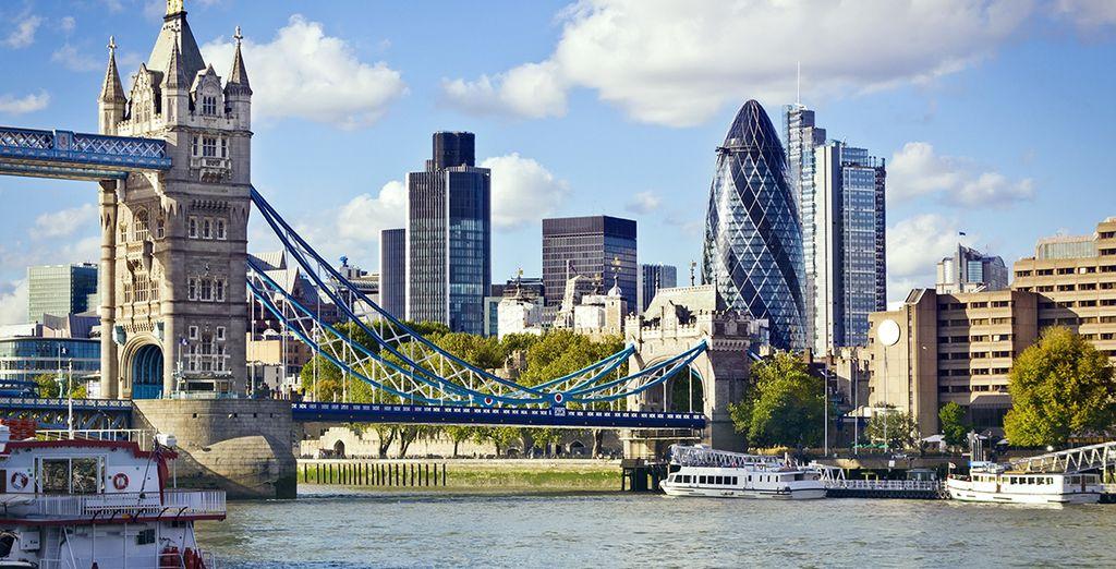 Fotografie di Londra e dei monumenti inglesi