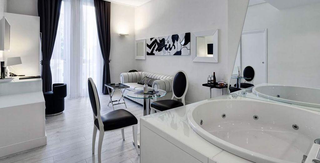 Dettagli unici di stile e momenti di relax vi attendono al Montecatini Palace 5*