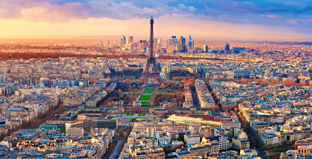Partite per un soggiorno a 4* nel cuore di Parigi