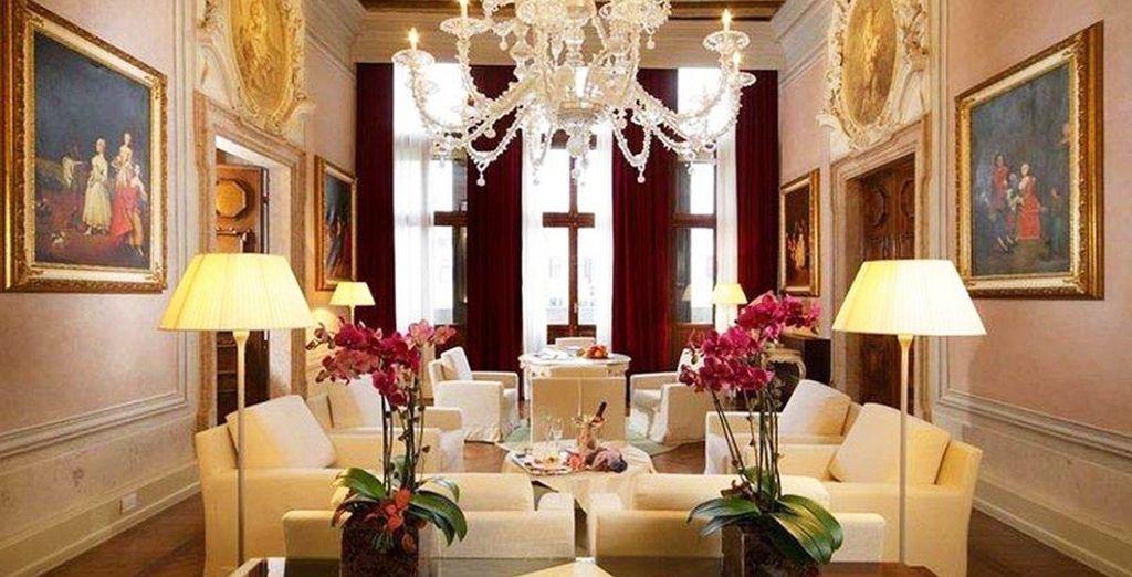 Palazzo Giovanelli, nel quale oggi si trova il vostro lussuoso hotel