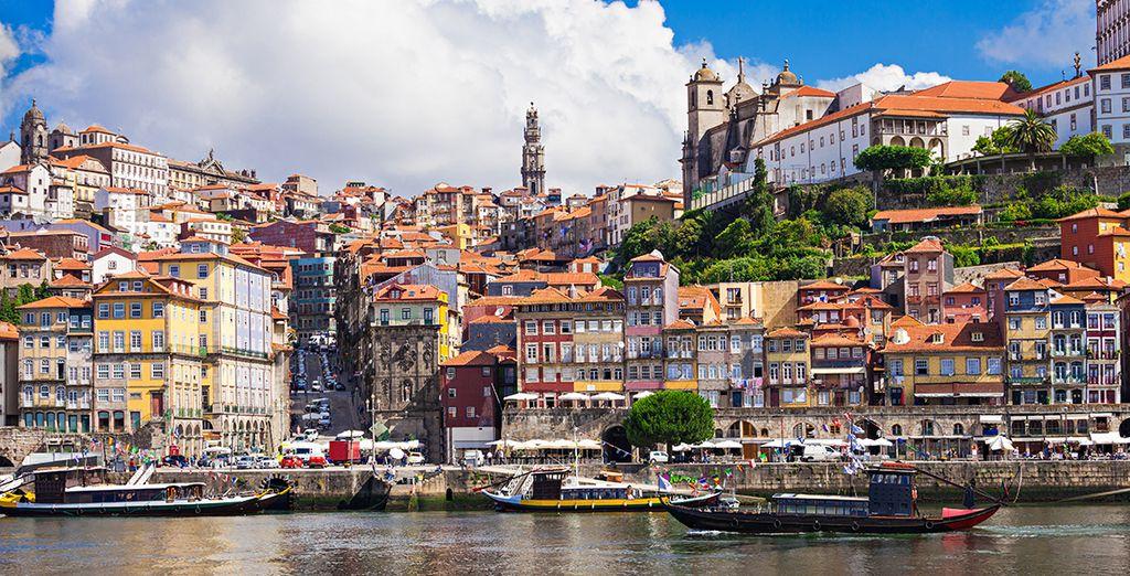 Non perdete l'occasione di visitare il centro storico di Porto
