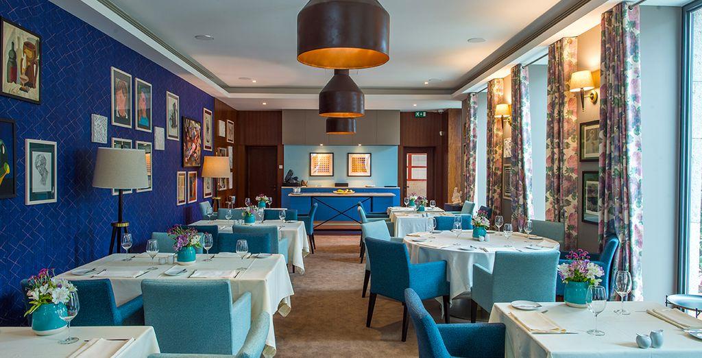Accomodatevi al ristorante e assaporate l'originalità dei piatti proposti