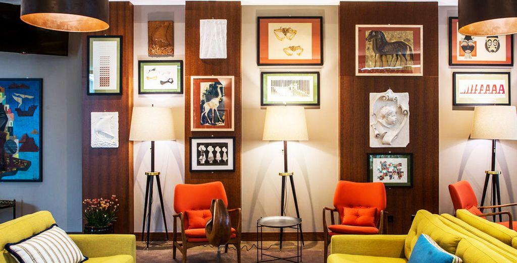 The Artist Porto Hotel & Bistro vi dà il benvenuto in luogo creativo ed originale