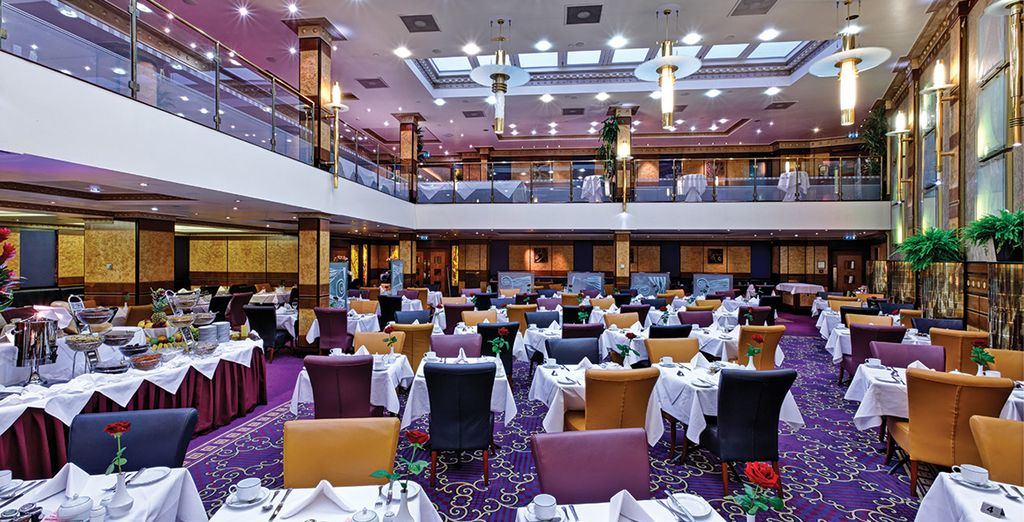 Provate la cucina mediterranea del ristorante Forum