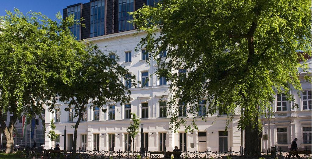 L'hotel è situato in un posizione ideale per partire alla scoperta della città
