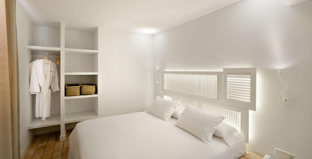 Bianco fornisce un senso di tranquillità ...