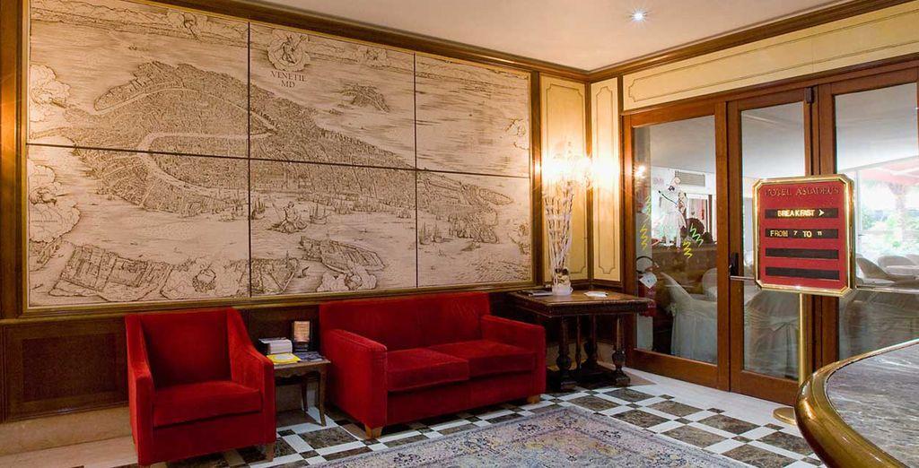 L'hotel Amadeus si contraddistingue per la sua eleganza e la sua classe