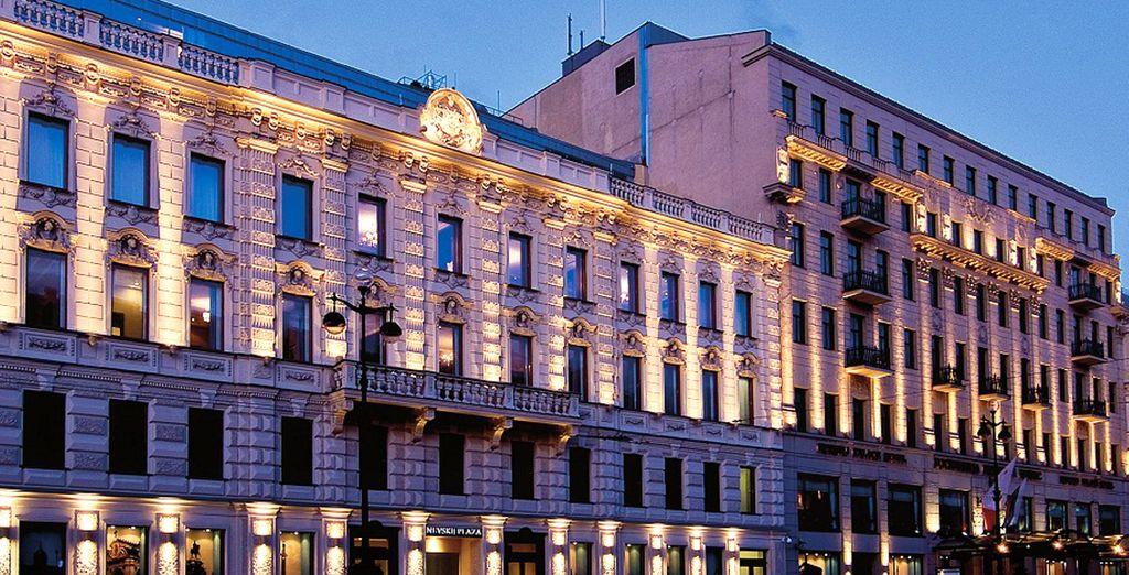 L'hotel è all'interno di due maestosi edifici del XIX° secolo