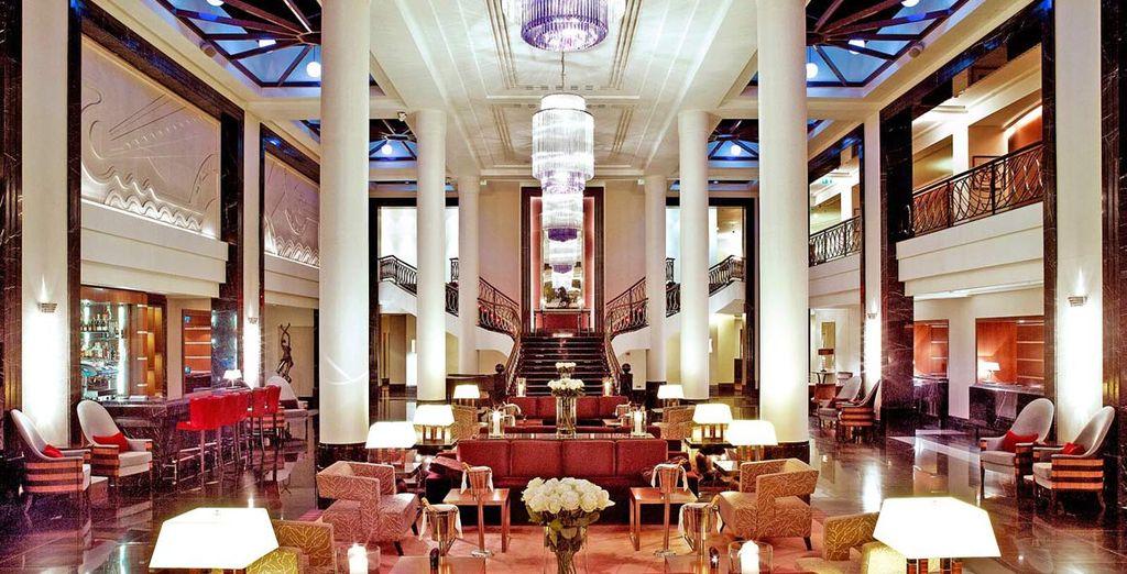 Benvenuti all'Hotel Corinthia Saint Petersburg 5*