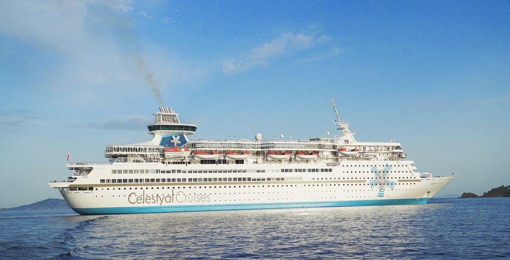 Con una nave maestosa: la Celestyal Olimpia, solcate il mare della Grecia