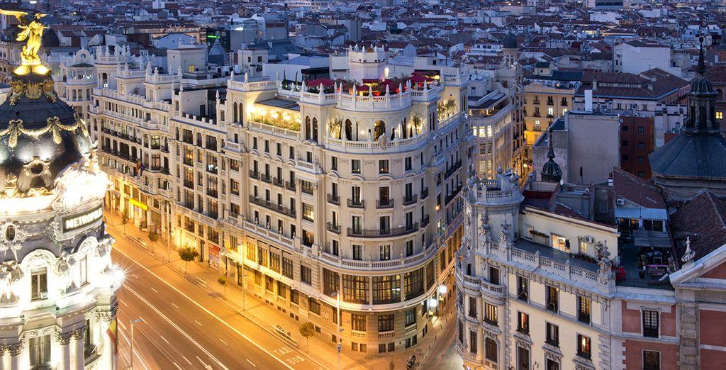 Godetevi il vostro soggiorno a Madrid!