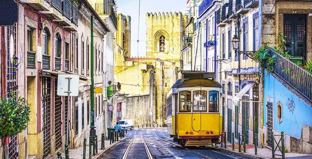 Passate da quartiere a quartiere e scoprite la ricchezza della cultura di Lisbona