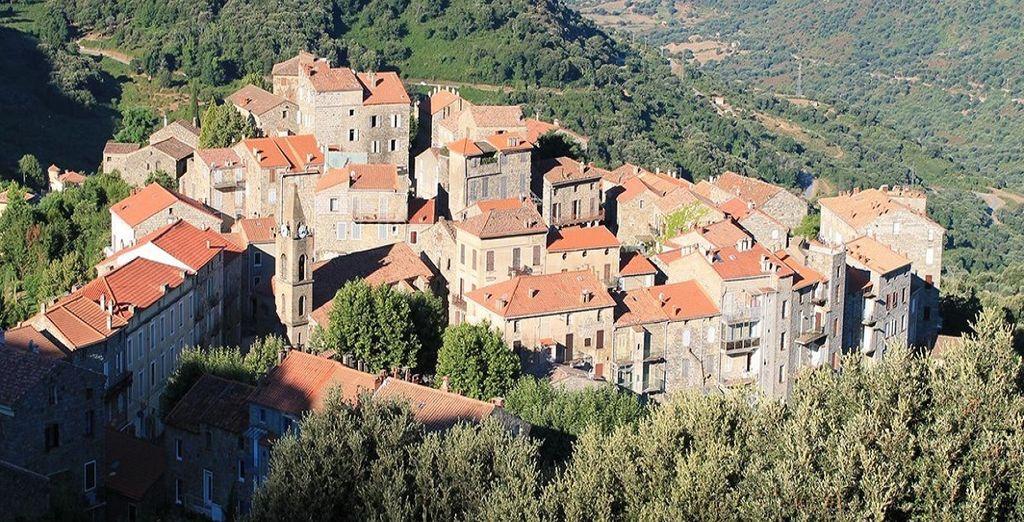 Visitate le colline nei dintorni e l'incantevole Propriano Valinco