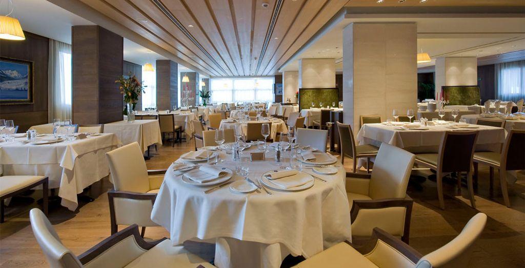 Godetevi i piaceri del ristorante Savoy