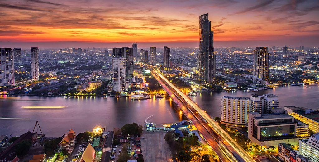 La capitale della Thailandia vi affascinerà