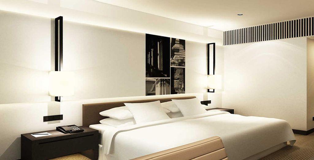 Hotel di lusso a 5 stelle con tutti i comfort e camere spaziose vicino a tutte le attività, a Bangkok