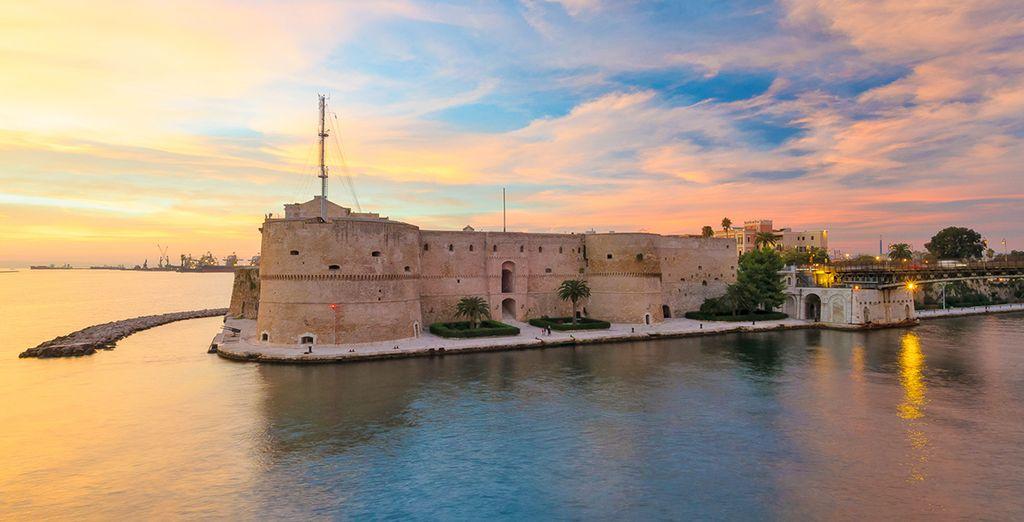 e a pochi kilometri dalla bellissima Taranto: scoprite la Puglia.
