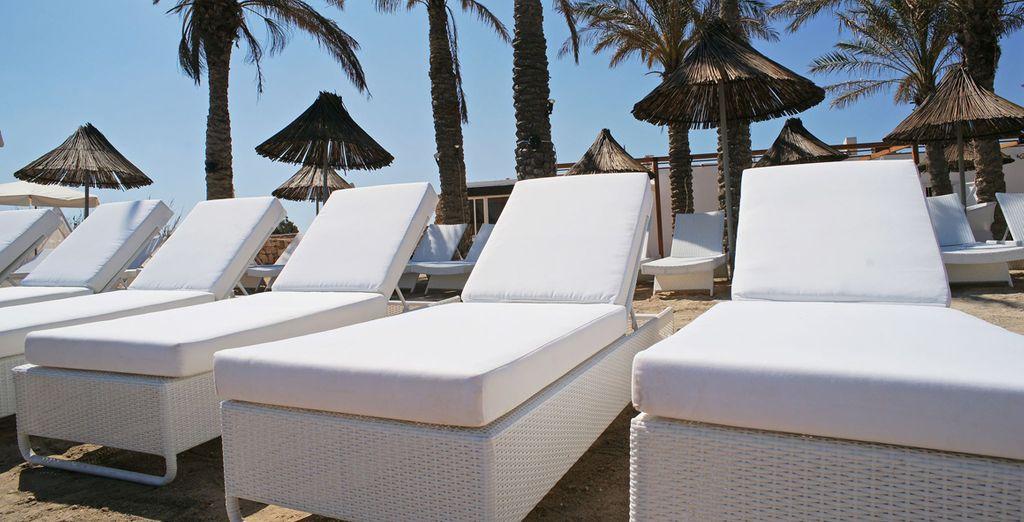 L'hotel è situato in prossimità della spiaggia