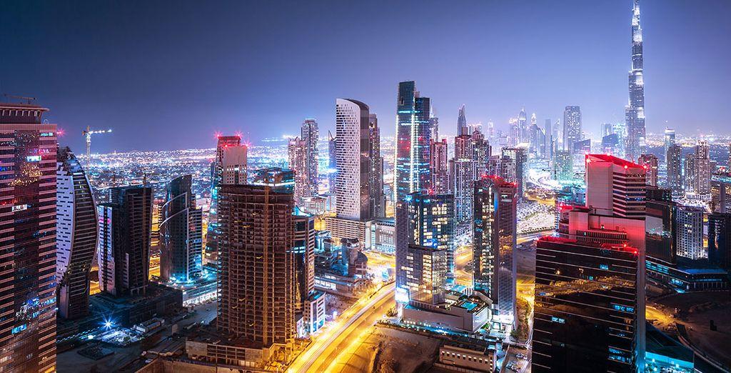 Scoprite una città vitale e ipermoderna