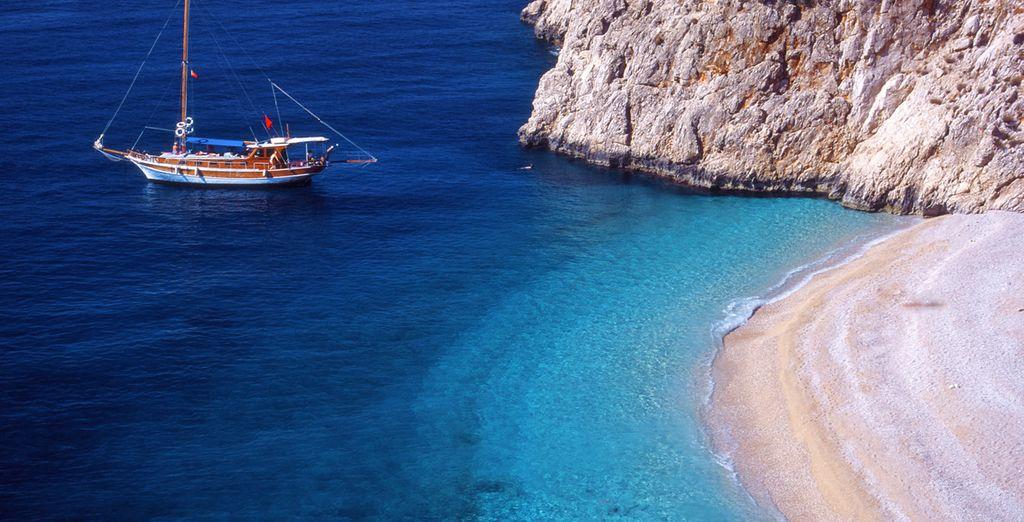 Partite alla scoperta del mare della Turchia